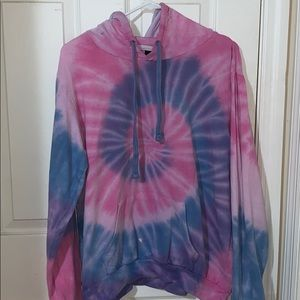 Tie-Dye hooded sweatshirt